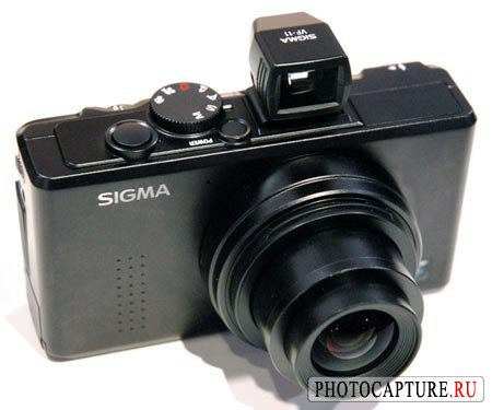Sigma DP1. Большая матрица в компакте