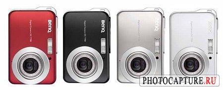 Стильные фотокамеры BenQ становятся тоньше