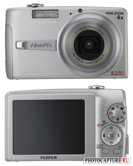 Новый широкоугольный Fujifilm FinePix F480