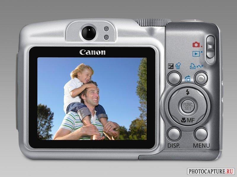 Пресс-релиз: Canon PowerShot A650 IS и PowerShot A720 IS