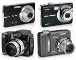 Шесть новых фотокамер Кодак
