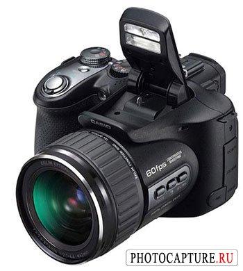 Дата выхода и цена камеры Casio EX-F1