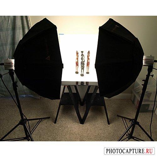 Съемка предметов для каталогов (рекламное фото)