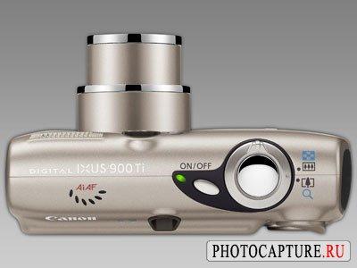 Canon IXUS 900: камера из титана