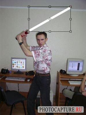 Светящийся меч