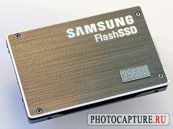 Samsung презентовал 256Gb SSD-накопитель