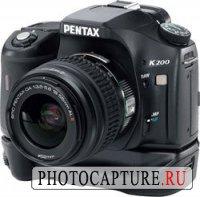 Новая Pentax K200D