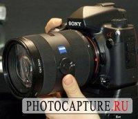 Прототип Sony A900 предъявлен публике