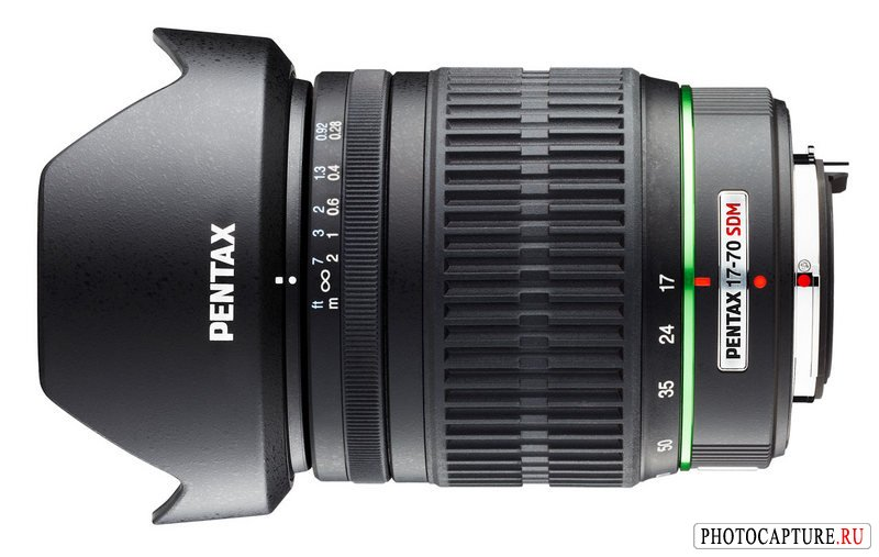 Pentax DA 17–70 mm F4 AL [IF] SDM